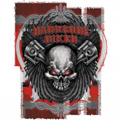 Bikers-Custom : Sweat zippé HARDCORE