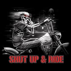Bikers-Custom : Sweat zippé SHUP AND RIDE