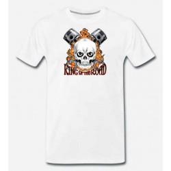 Bikers-Custom : T shirt king of the road