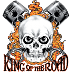 Sweat capuche KING OF THE ROAD