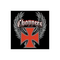 Bikers-Custom : T shirt croix templier rouge