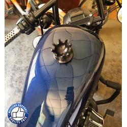 Bikers-Custom : Bouchon de réservoir king road