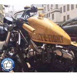 Bikers-Custom : Bouchon de réservoir king road noir