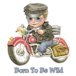 T Shirt enfant born to be wild