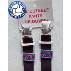 Fixation bas de pantalon confédéré