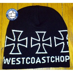 Bonnet west coast chopper noir