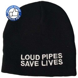 Bonnet loud pipes, save lives