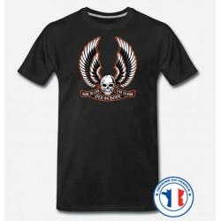 Bikers-Custom : T shirt biker old school