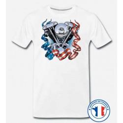 Bikers-Custom : T shirt biker 1340 SHOVEL