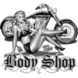 Bikers-Custom : T shirt biker body shop
