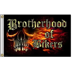 drapeau biker brotherhood