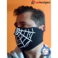 Cache nez ou face mask spider