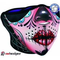 Cache nez ou face mask sugar skull