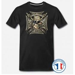 Bikers-Custom : T shirt biker loyal to none
