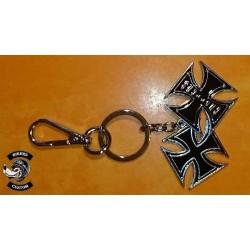 Porte clés 2 croix de malte