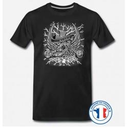 Bikers-Custom : T shirt biker ride to live