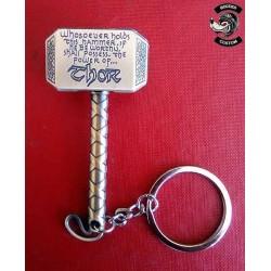Porte clés marteau de Thor