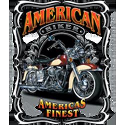 Bikers-Custom : T shirt biker americas finest