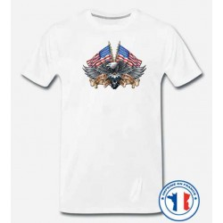 Bikers-Custom : T shirt biker wild breed