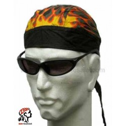 Zandana biker flamme frontale