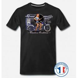 Bikers-Custom : T shirt biker timeless tradition