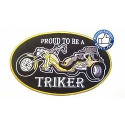 Patchs, écussons proud triker