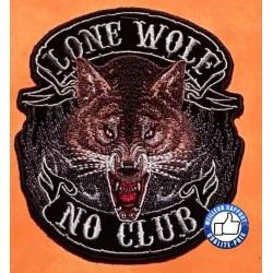 Patchs, écussons lonewolf