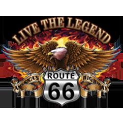 Bikers-Custom : T shirt biker the legend