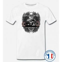 Bikers-Custom : T shirt biker bobber