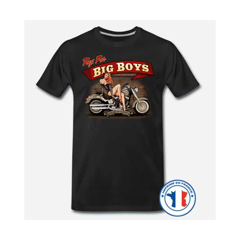 Bikers-Custom : T shirt biker toys for big boys