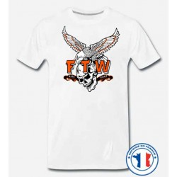 Bikers-Custom : T shirt biker ftw
