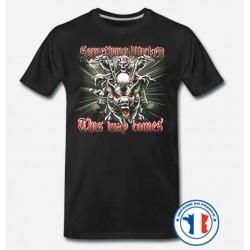 Bikers-Custom : T shirt biker something wicked