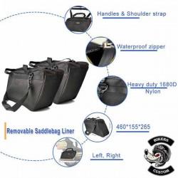 Bagage moto, intérieurs de sacoches pour FLH