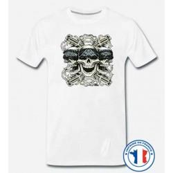 Bikers-Custom : T shirt biker cubanos