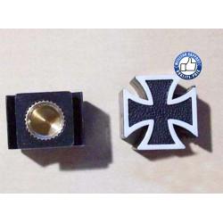 Bouchons de valves croix de malte noir