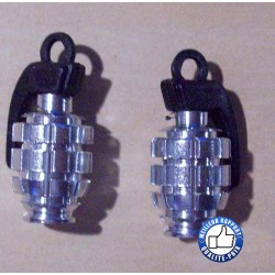 Bouchons de valves grenade