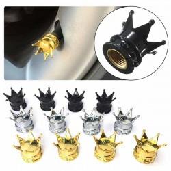 Bouchons de valves couronne
