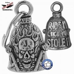 Clochette moto ou guardian bell stole it
