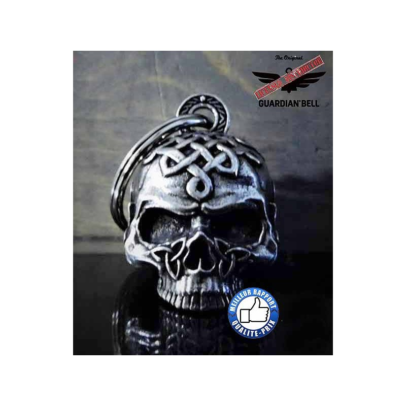 Bikers-Custom : Clochette moto ou guardian bell celtic skull