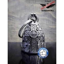 Clochette moto ou guardian bell croix celte