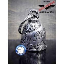 Clochette moto ou guardian bell lady rider