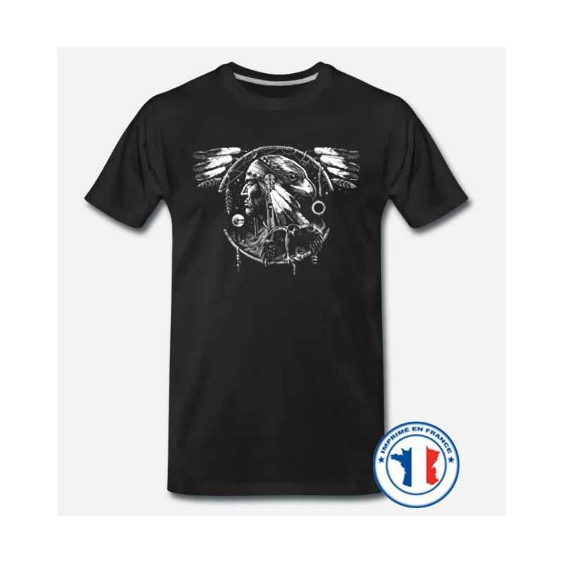 Bikers-Custom : T shirt biker dream eagle