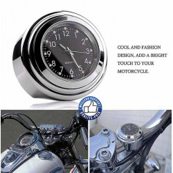 Bikers-Custom : Montre de guidon pour Harley et custom