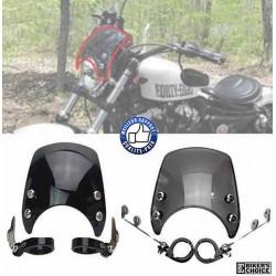 Pare brise fumé ou noir pour Harley et custom