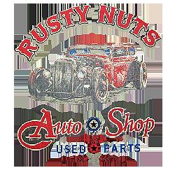 Bikers-Custom : T shirt biker rusty