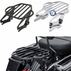 Porte bagages pour touring noir ou chrome
