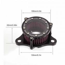 Bikers-Custom : Filtres à air figure machine