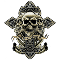 Bikers-Custom : T shirt biker brotherhood