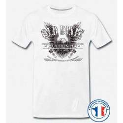 Bikers-Custom : T shirt biker dixie