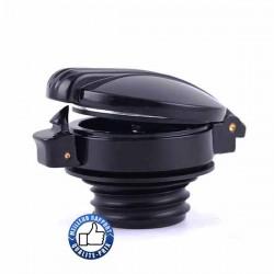 Bikers-Custom : Bouchon de réservoir old trap noir ou chrome